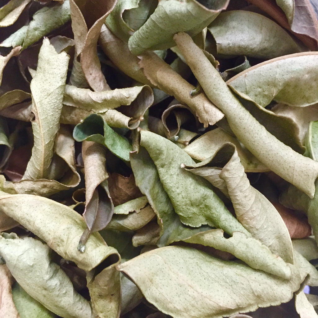 DRIED KAFFIR LIME LEAVES (BICOL)