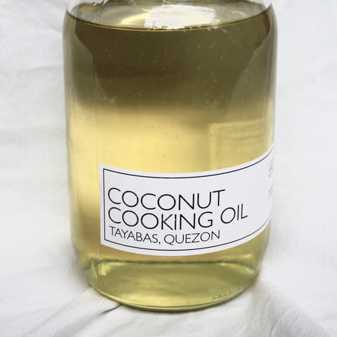 COCONUT COOKING OIL (QUEZON)