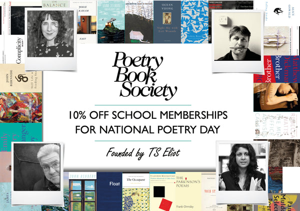 National Poetry Day School Discount