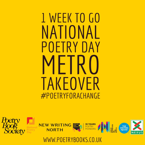 NATIONAL POETRY DAY METRO TAKEOVER