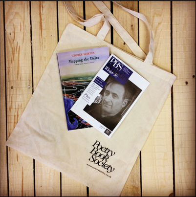 Poetry Book Society Canvas Bags
