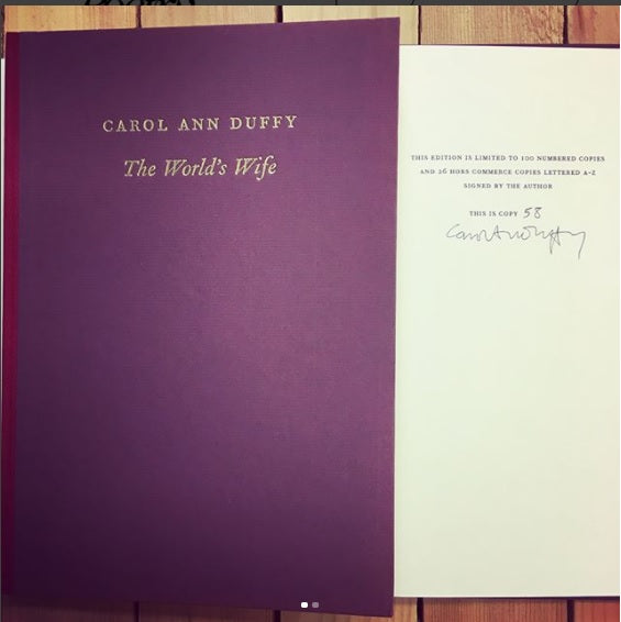 FREE SIGNED CAROL ANN DUFFY FOR CHARTER MEMBERS