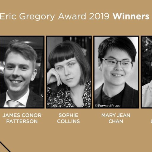 ERIC GREGORY AWARDS ANNOUNCED