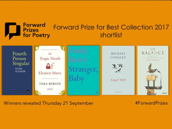 PBS Poets on the Forward Prizes 2017 Shortlist!