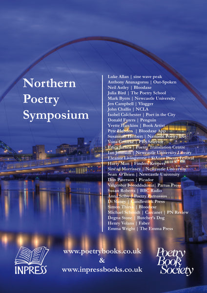 Launching the Northern Poetry Symposium Programme!