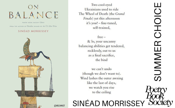 Spotlight on the Summer Choice - On Balance by Sinéad Morrissey