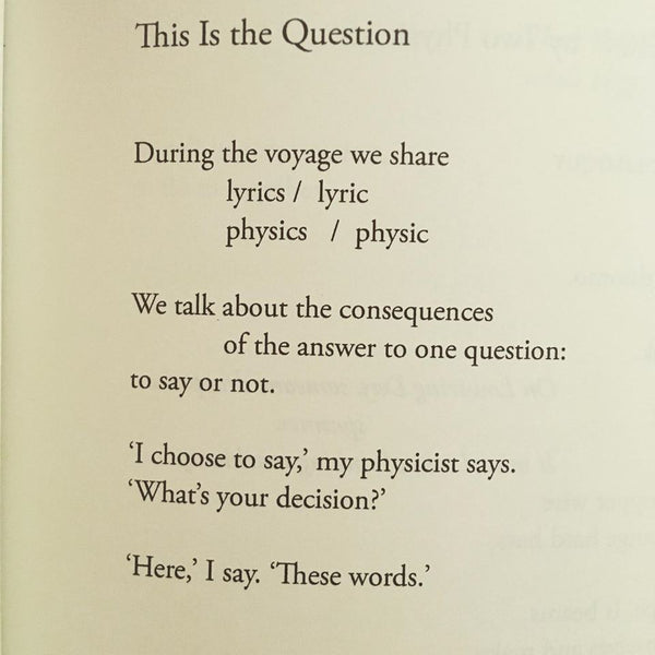 POEM A DAY: THIS IS THE QUESTION