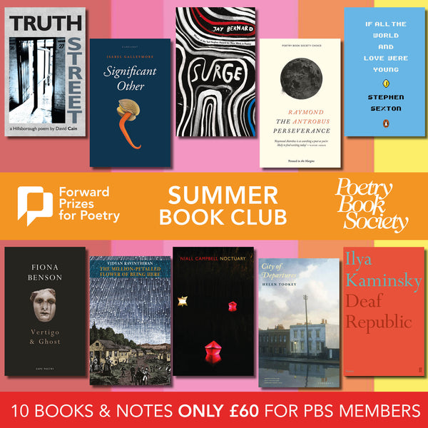 2019 FORWARD PRIZES SUMMER BOOK CLUB BUNDLE
