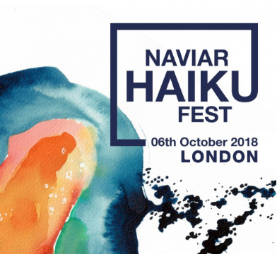 NAVIAR HAIKU FEST - LONDON, 6TH OCT
