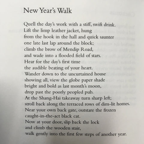 HAPPY NEW YEAR: POEM OF THE DAY – The Poetry Book Society