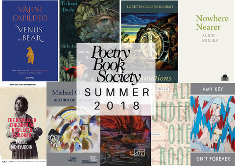 Announcing The Summer Selections The Poetry Book Society