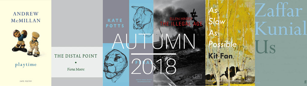 Autumn Selections 2018 The Poetry Book Society