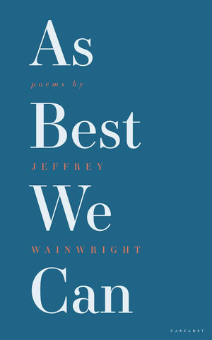 As Best We Can by Jeffrey Wainwright