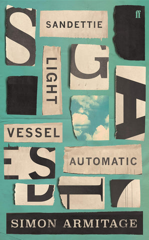 Sandettie Light Vessel Automatic by Simon Armitage Signed Copy