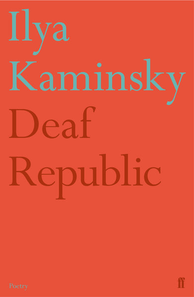 Image result for Ilya Kaminsky: Deaf Republic.