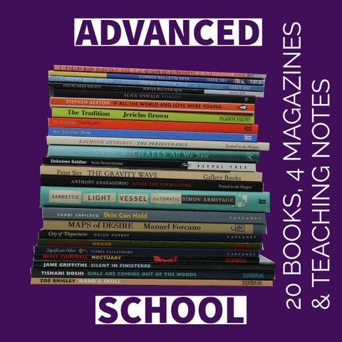 ADVANCED SCHOOL <b> <br> <br> 20 books & 4 Magazines a year <br> </b>