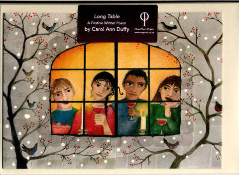 Festive Poetry Card: Carol Ann Duffy, 'Long Table'