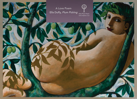 ONE PLUM CARDS: PLUM PICKING BY ELLA DUFFY