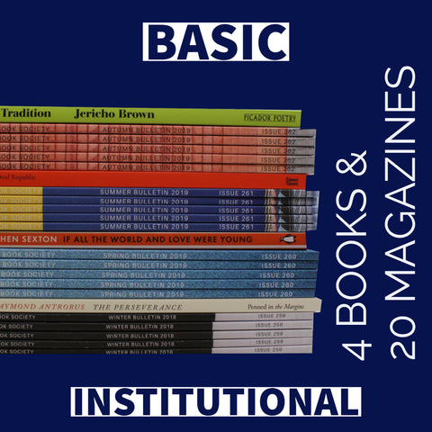 BASIC INSTITUTIONAL <b> <br> <br> 4 Books & 20 Magazines a year </br> </b>