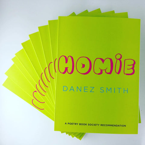 Homie by Danez Smith <b> PBS Spring Recommendation 2020 </b>