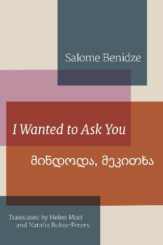 I Wanted to Ask You by Salome Benidze