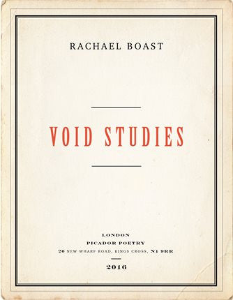 Void Studies <b> PBS Recommendation Winter 2016  </b>