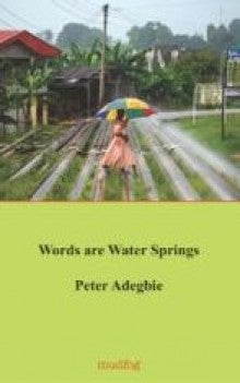 Words Are Water Springs by Peter Adegbie