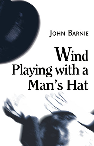 Wind Playing with a Man's Hat by John Barnie