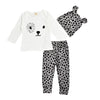 Dalmatian Long Sleeve, Pant & Hat Trio