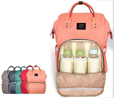Multi-Function Designer Baby Bag