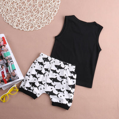 Love the Singing Fish Tank & Shorts Set