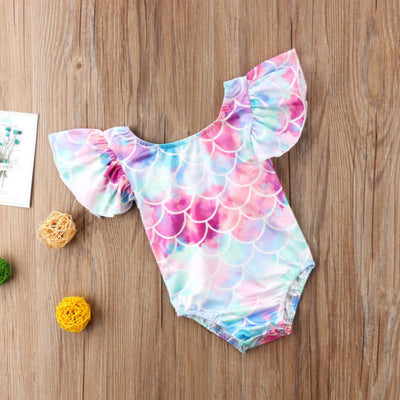 Flash Sale - Toddler Girl Mermaid Swimsuit