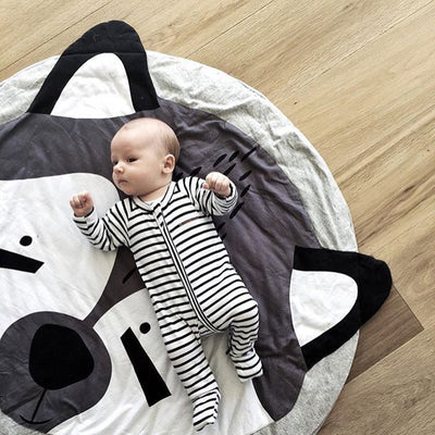 Cute Fox Play Mat