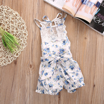 New Lyla Lace Romper
