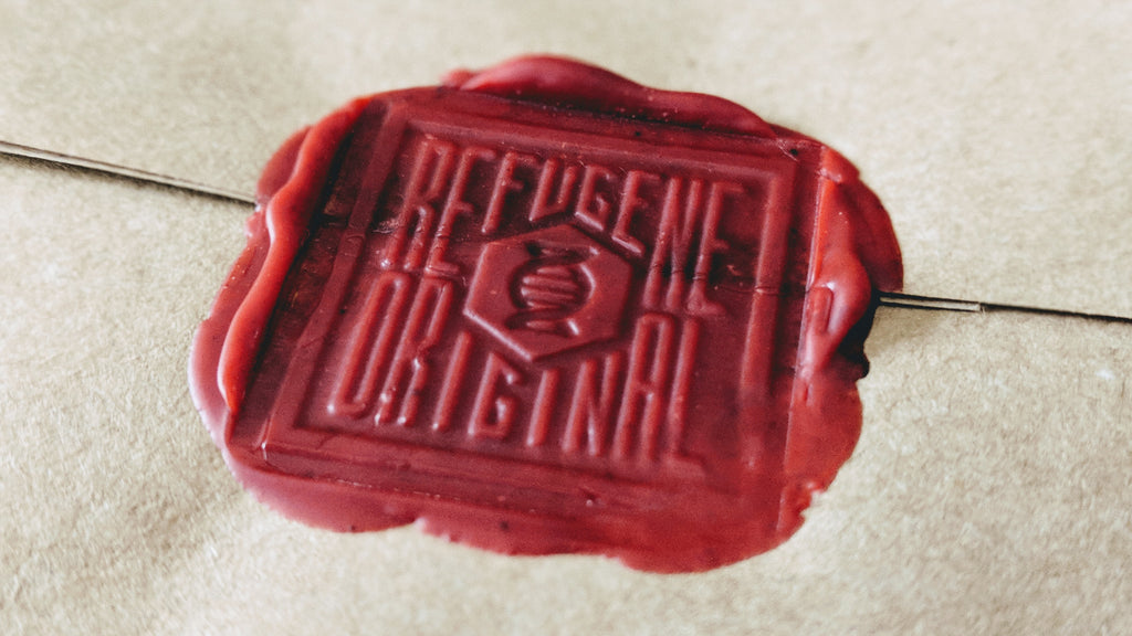 Welcome to REFUGENE wax seal
