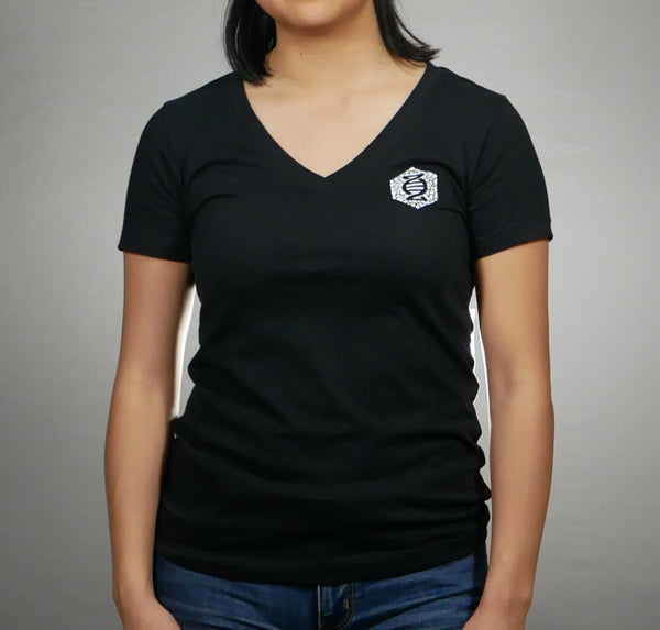 Women's Eggshell Token T-Shirt [Black]