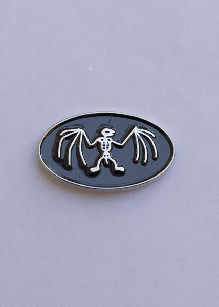 Bat Skeleton Badge