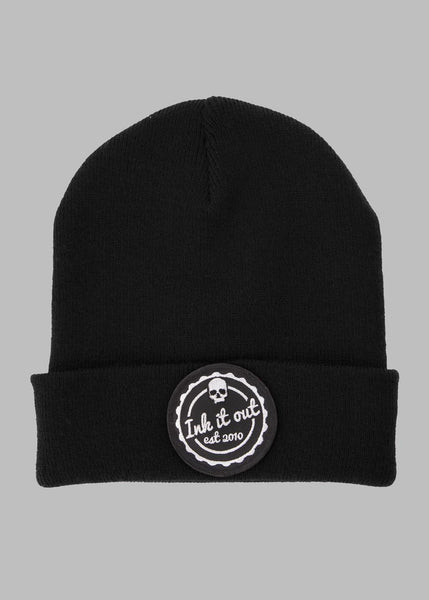 Beanie hat - Ink it out - Black - Signature