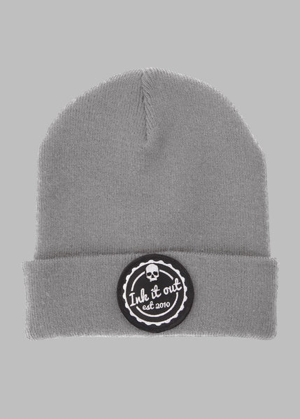 Beanie hat - Ink it out - Grey - Signature