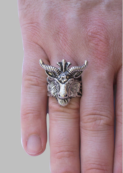 'Bighorn' Stainless Steel Ring