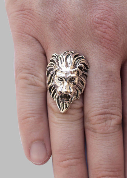 'King' Stainless Steel Ring