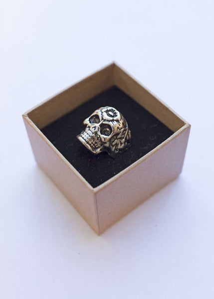 'Muertos' Stainless Steel Ring