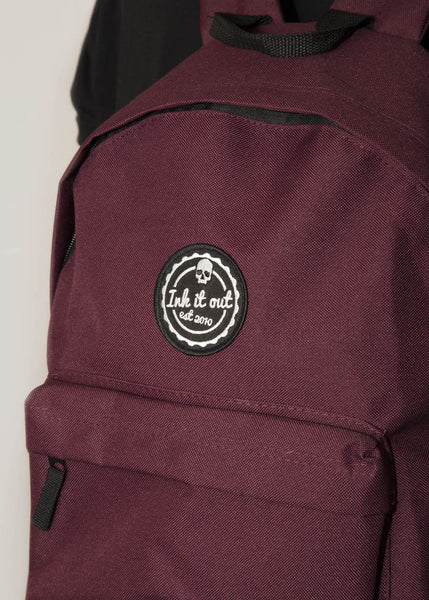 Signature Backpack - Burgundy Accessories - Ink it out