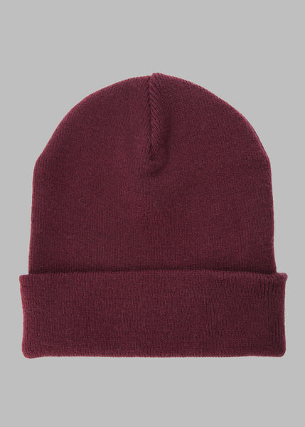 Signature Beanie Burgundy Hats - Ink it out
