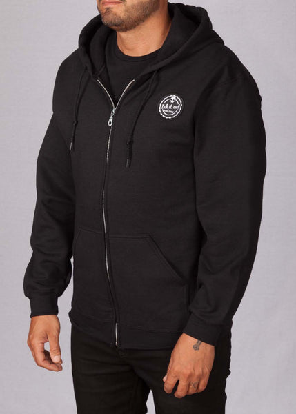 Signature Hoodie Black Hoodies - Ink it out