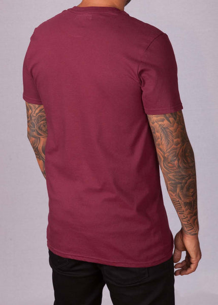 Signature Burgundy Unisex T-Shirt T-Shirts - Ink it out