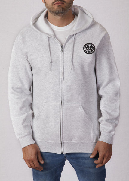 Hoodie - Ink it out - Signature - Grey