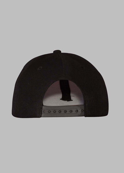 Signature Black Snapback Hats - Ink it out