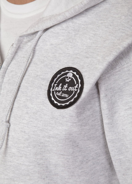 Signature Hoodie Grey Hoodies - Ink it out