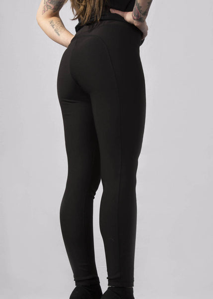 Signature Reversible Leggings - Black & White Leggings & Joggers - Ink it out